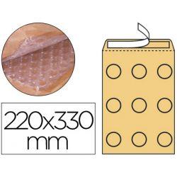 SOBRE BURBUJAS CREMA Q-CONNECT F/3 220 X 330 MM