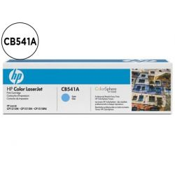 TONER HP CB541A COLOR LASERJETCP-1215/CP-1515/CP-1518 CIAN WITH COLORSPHERE -1.400PAG-