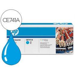 TONER HP COLOR LASERJET CP5225 CP5225N CP5225D -CE741A- CIAN 7.300 PAGS