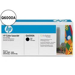 TONER HP LASERJET COLOR 1600/2600/2605 SERIE CM1015MFP NEGRO-Q6000A-
