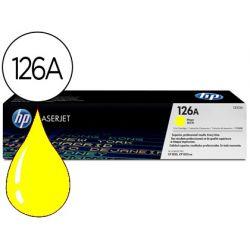 TONER HP LASERJET CP1025 MFP M175A CE312A AMARILLO 1000 PAG