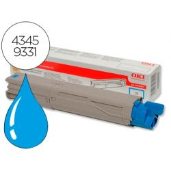 TONER OKI C3300/3400/3450 CIAN -2500 PAG- TYPE C9
