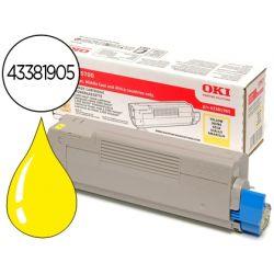 TONER OKI C5600/5700 AMARILLO -2.000 PAG-