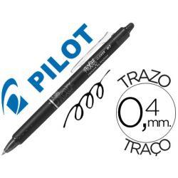 BOLIGRAFO PILOT FRIXION CLICKER BORRABLE 0,7 MM COLOR NEGRO