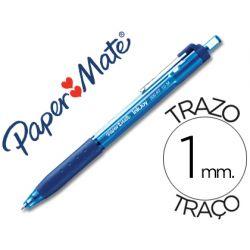 BOLIGRAFO PAPER MATE INKJOY 300 RT PUNTA MEDIA TRAZO 1MM RETRACTIL CLIPS METALICO SUJECION CAUCHO CO