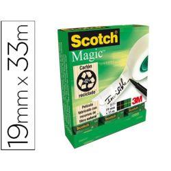 CINTA ADHESIVA SCOTCH MAGIC INVISIBLE 19X33M