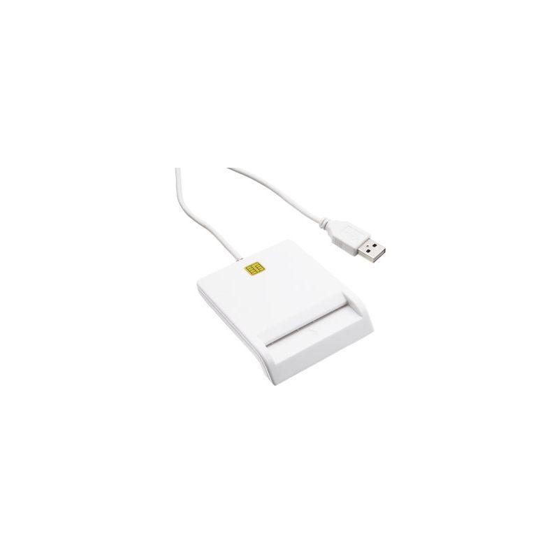 LECTOR DE DNI-E USB 2.0 BLANCO