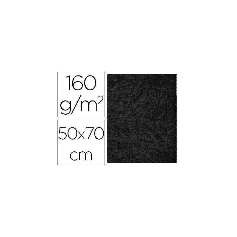 FIELTRO LIDERPAPEL 50X70CM NEGRO 160G/M2