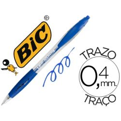 BOLIGRAFO BIC ATLANTIS AZUL RETRACTIL TINTA ACEITE PUNTA DE 1 MM