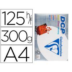 PAPEL FOTOCOPIADORA CLAIREFONTAINE DIN A4 300 GRAMOS PAQUETE DE 125 HOJAS