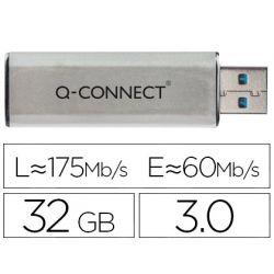 MEMORIA USB Q-CONNECT FLASH 32 GB 3.0