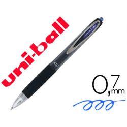 BOLIGRAFO UNI-BALL ROLLER UMN-207 RETRACTIL 0,7MM COLOR AZUL