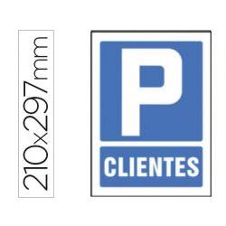 PICTOGRAMA SYSSA SE¾AL DE PARKING CLIENTES EN PVC 210X297 MM