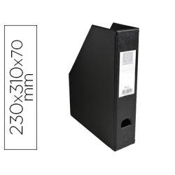 REVISTERO EXACOMPTA PVC LOMO 70MM COLOR NEGRO 230X310X70 MM