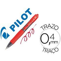 BOLIGRAFO PILOT G-2 PIXIE ROJO TINTA GEL RETRACTIL SUJECION DE CAUCHO