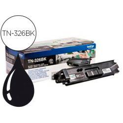 TONER BROTHER TN-326BK HLL8250CDN / HLL8350CDW ALTA CAPACIDAD NEGRO 4000 PAG