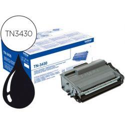 TONER BROTHER TN-3430 DCP-L5500DN / DCP-L6600DW / HL-L5000D / MFC-L5700 NEGRO 3000 PAG