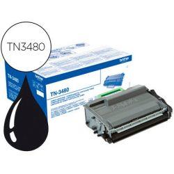 TONER BROTHER TN-3480 DCP-L5500DN / DCP-L6600DW / HL-L5000D / MFC-L5700 ALTA CAPACIDAD NEGRO 8000 PA