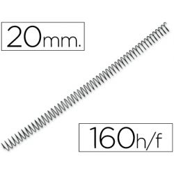 ESPIRAL METALICO Q-CONNECT 56 4:1 20MM 1,2MM