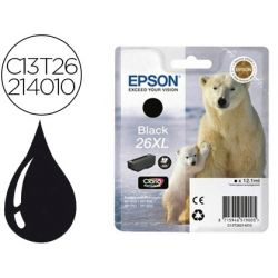 INK-JET EPSON T2621XL EXPRESSION XP-600 / 605 / 700 / 800 NEGRO - 500 PAG -