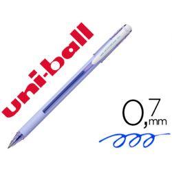 BOLIGRAFO UNI-BALL ROLLER JETSTREAM SX-101 0,7 MM LAVANDA TINTA GEL AZUL