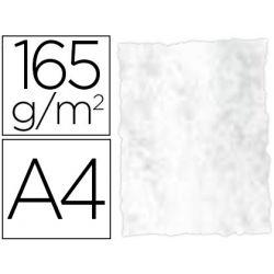 PAPEL COLOR LIDERPAPEL PERGAMINO CON BORDES A4 165G/M2 GRIS