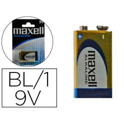 PILA MAXELL ALCALINA 9V LR09 BLISTER DE 1 UNIDAD