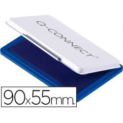 TAMPON Q-CONNECT N.3 90X55 MM AZUL