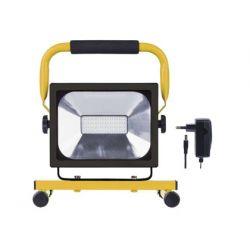 FOCO PORTATIL SUNMATIC LED EMOS 160W 1500 LUMENES 6500 KELVINK 2,5H BATERIA LI-ION 4400MAH CARGADOR