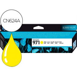 INK-JET HP 971 OFFICEJET PRO X451 / X551 / X476 / X576 AMARILLO 2.500 PAG
