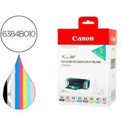 INK-JET CLI-42 CANON PIXMA PRO-100 / 100S MULTIPACK 8 COLORES BK /GY / LGY / C / M / Y / PC / PM 13