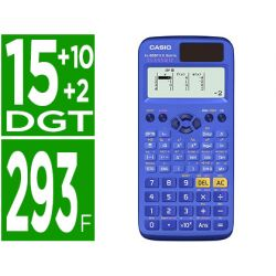 CALCULADORA CASIO FX-85SPX II CLASSWIZ CIENTIFICA 293 FUNCIONES 9 MEMORIAS 15+10+2 DIGITOS 16 MB FLA