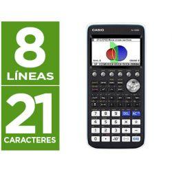 CALCULADORA CASIO FX-CG50 CIENTIFICA GRAFICA 8 LINEAS 21 CARACTERES PANTALLA COLOR 3D MEMORIA 16 MB