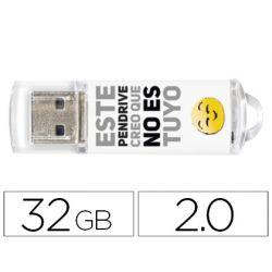 MEMORIA USB TECHONETECH FLASH DRIVE 32 GB 2.0 NO ES TUYO