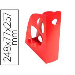 REVISTERO EXACOMPTA ECOMAG PLASTICO ROJO 248X77X257 MM