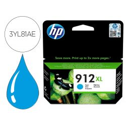 INK-JET HP 912 XL OFFICEJET 8010 / 8020 / 8035 CIAN 825 PAG