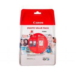 INK-JET CANON 560 XL - 561 XL PIXMA TS5350 / TS5351 / TS5352 / TS5353 PACK NEGRO AMARILLO CIAN MAGEN