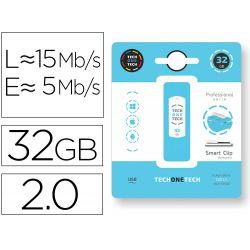 MEMORIA USB TECH ON TECH SERIE PROFESIONAL SMART CLIPT 32 GB