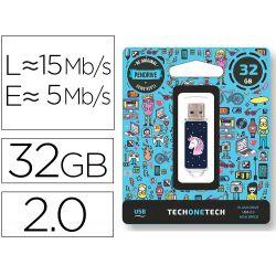 MEMORIA USB TECH ON TECH UNICORNIO DREAM 32 GB