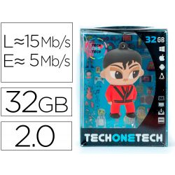 MEMORIA USB TECH ON TECH MJ THRILLER 32 GB