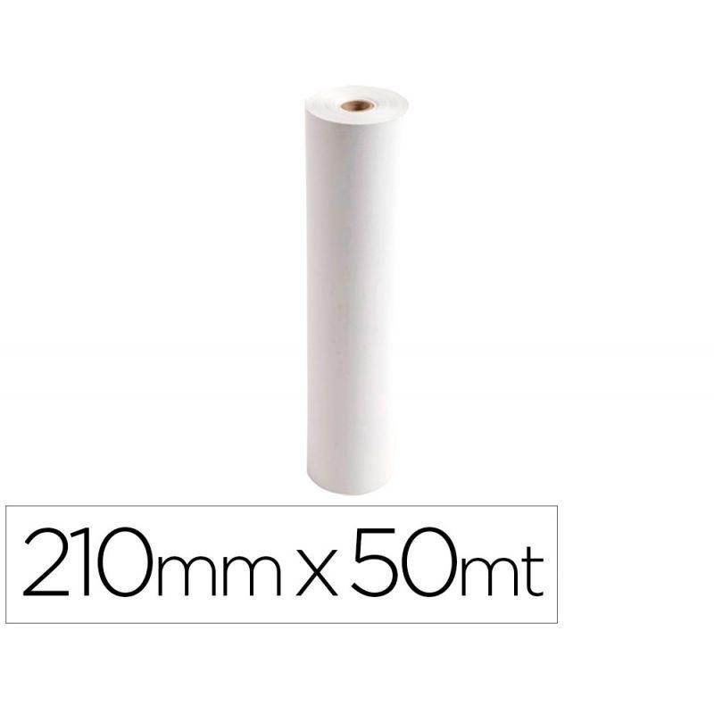 ROLLO PAPEL FAX EXACOMPTA 210 MM X 50 MT