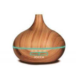 DIFUSOR DE AROMAS JOCCA 7 MODOS ILUMINACION INCLUYE USB CAPACIDAD 300 ML 170X170X170 MM