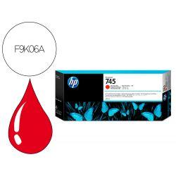 INK-JET HP DESIGNJET 745 ROJO CROMATICO 300 ML/áDNJZ5600/1000 PAGINAS