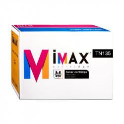 TONER IMAX® (TN135BK) PARA IMPRESORAS BR - 5.000 pag - Negro