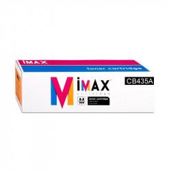 TONER IMAX® (CB435A // CRG712) PARA IMPRESORAS HC - 1.500 pag - Negro