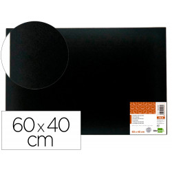 TABLERO DE FIELTRO LIDERPAPEL MURAL COLOR NEGRO 40X60 CM