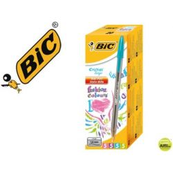 BOLIGRAFO BIC CRISTAL LARGE FASHION COLORES SURTIDOS