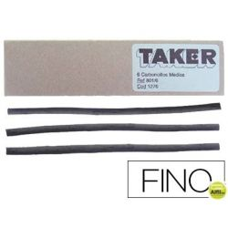 CARBONCILLO TAKER FINO 801/10 -CAJA DE 10 BARRAS