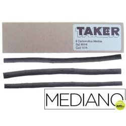 CARBONCILLO TAKER MEDIANO 801/6 -CAJA DE 6 BARRAS