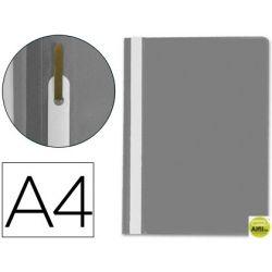 CARPETA DOSSIER FASTENER PLASTICO Q-CONNECT DIN A4 GRIS